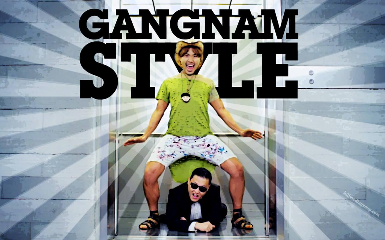 style gangnam style
