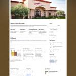Classic Wine Vinegar Website Homepage