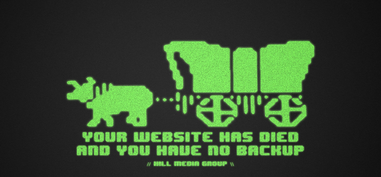 Webseite Down