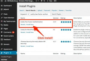 Authy Two Factor Authentication WordPress Plugin