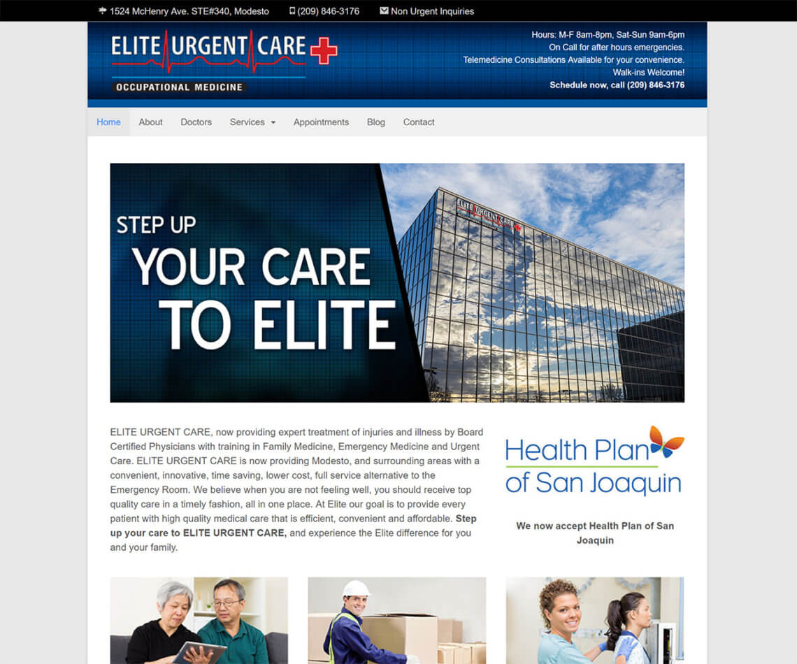 Elite Urgent Care Modesto Workers Compensation Medical