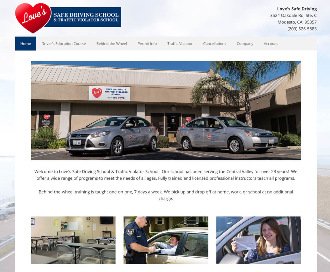 Loves Safe Driving School LLC Modesto