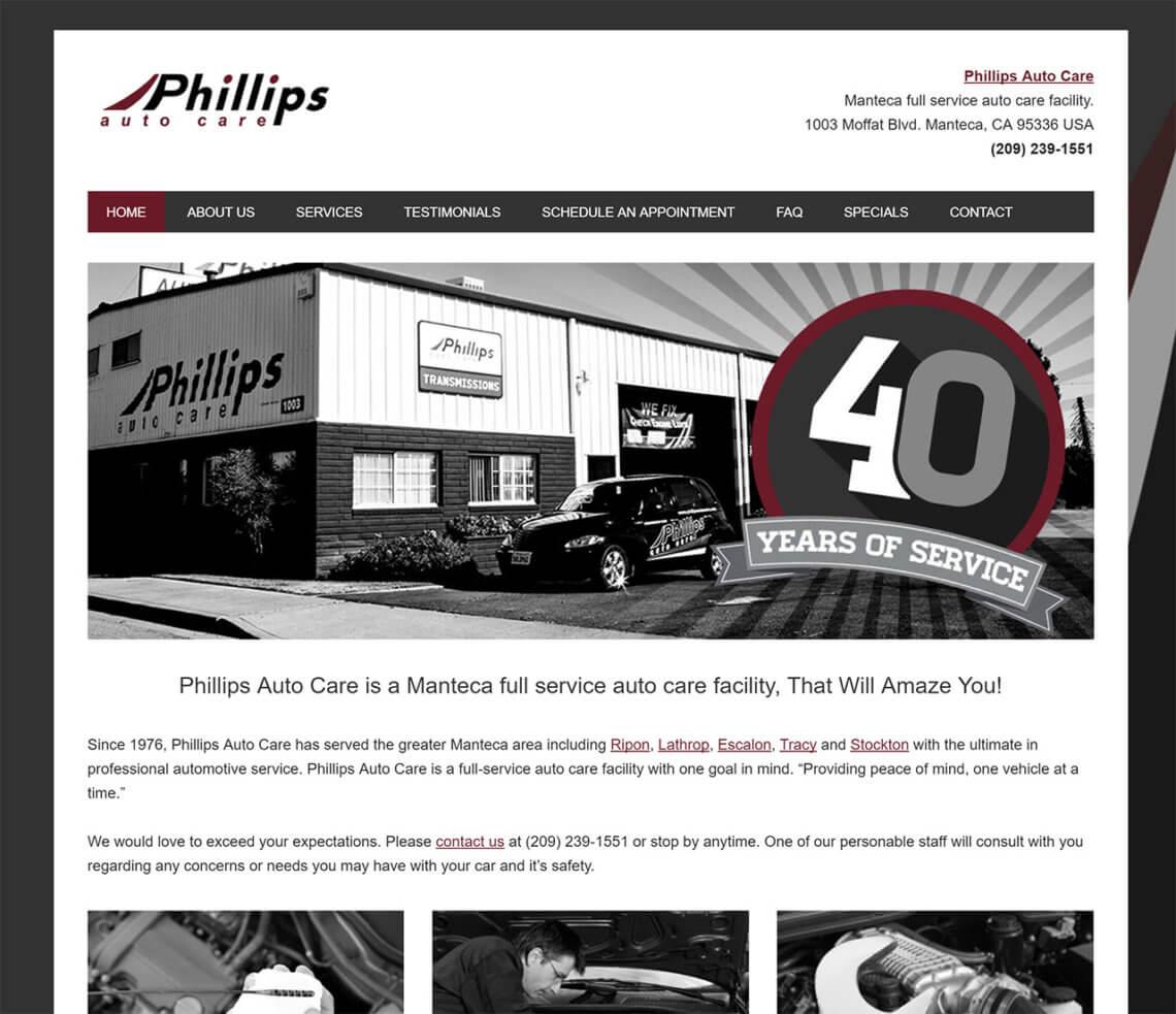 Manteca Auto Repair Phillips Auto Care